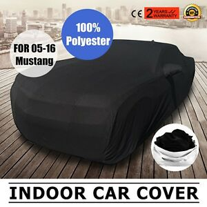 Full Car Cover Mold Mildew For Ford Mustang 2005 2016 Scratch Soft Waterproof