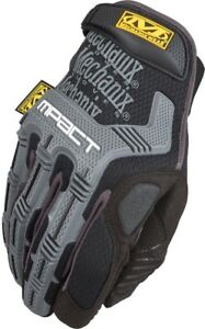 Mechanix Wear M pact Large Mens Synthetic Leather Work Gloves Black Durable