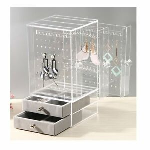 Biutee Jewelry Box For Women Jewelry Organizer Necklace Earrings Bracelet
