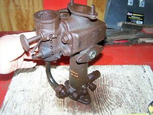 Old International Harvester Ihc Titan 10 20 Tractor Fuel Mixer Throttle Assembly
