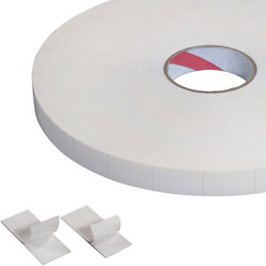 Tape Logic Double sided Foam Squares 1 16 1 X 3 White 324 roll T95217