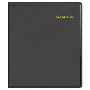 At a glance Refillable Multi year Monthly Planner 9 X 11 White 2017 2021 7029605