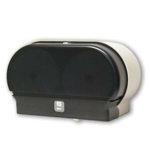 Corless Roll Twin Toilet Tissue Dispenser