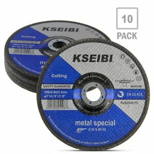 7 inch Metal Cutting And Grinding Disc Depressed Center Cut Off Grind Wheel 10pc
