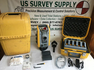 Trimble S6 3 Dr300 Robotic Total Station Reflectorless Cable Free W Wnty