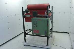 Driquik 2 4 750 Tube Pipe Infrared Ceramic Cone Curing Oven 6 Kw Output 480v