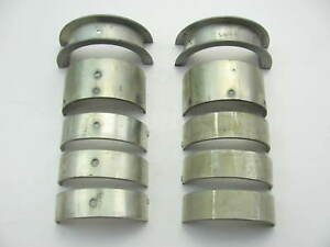 Federal 4040m Engine Main Bearings Standard 1959 1979 Pontiac 326 350 389 400