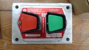 Crouse hinds Explosion Proff Start Stop Button Dsd921 Ds Fs 922 new