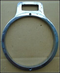 Unknown 1920 s Or 30 s Headlight Ring Or Bezel Id 7 1 4 Inch Od 8 1 8 Inches