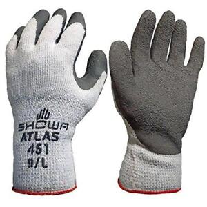 Atlas Showa Therma fit 10 gauge Insulated Seamless Liner Work Gloves With