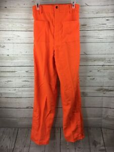 Firefighter Utility Orange Nomex Pants size 32x32 New