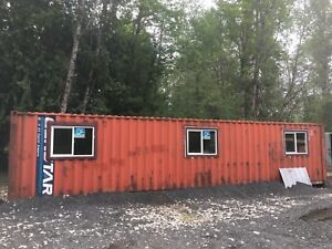 40 Shipping Container Mobile Office House Storage Bunker 40
