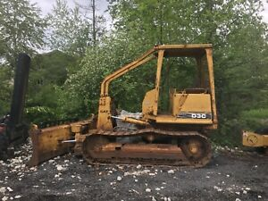 Cat D3c Dozer Parts Machine Knock In Engine 6 way Blade