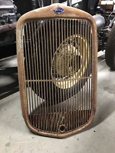 1932 Ford Truck Grill Shell Model B A Commercial Hot Rod Rat Scta Oem Flathead