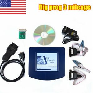 Us Store Digiprog Iii V4 94 W Obd2 St01 St04 Cable Adapter Digiprog 3 Kits Kz