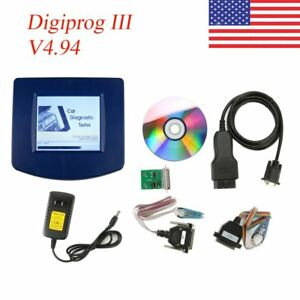 Main Unit Of Odometer Correct Tool Digiprog3 V4 94 With Obd2 St01 St04 Cable Kz