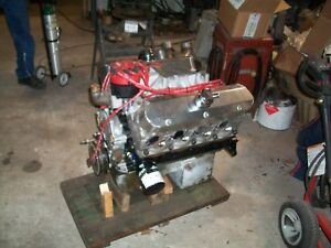 Small Block Ford Drag Racing Engine Bolt In And Go