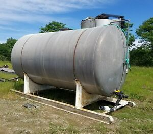 6 000 Gallon Storage Tank Aluminum Storage Container Bulk Water Diesel Gas