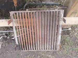 Allis Chalmers Wd 45 Tractor Ac Front Radiator Nose Cone Grill Shutters Loovers