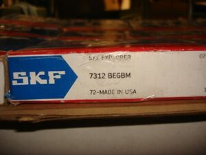 1 New Skf Explorer Roller Ball Bearing 7312 Begbm R26
