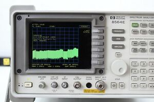Hp Agilent 8564e Lcd Spectrum Analyzer 9khz 50 Ghz Nist Calibration Cert