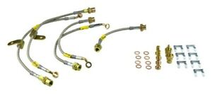 Goodridge Stainless Steel Brake Lines For 09 12 Cadillac Cts v W Brembo 12238