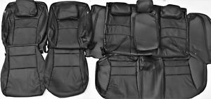 2015 Honda Accord Sport Ex 4dr Black Leather Upholstery Seat Cover Set New