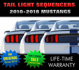2010 2011 2012 2013 2014 2015 Mustang Brake Light Sequencer usa Models