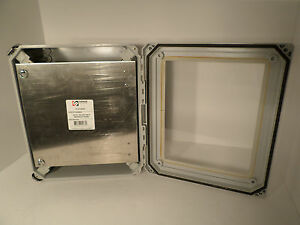 Stahlin Enclosure Non Metallic Enclosure Dsw121006hpl With Panel P1210asal