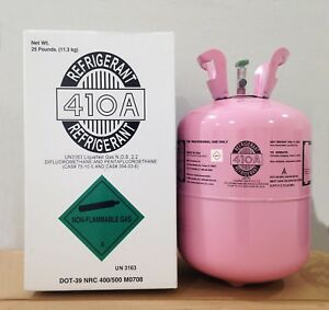 R 410a Refrigerant 25lb Cylinder Original Brand new Factory Sealed lowest Price