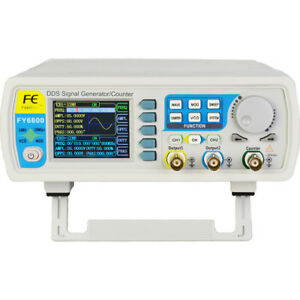 2018 Fy6800 60mhz 2ch Dds Arbitrary Waveform Function Signal Generator Meter