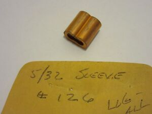 Lug all 5 32 Sleeve Type Cable Clamp No 126 New Old Stock
