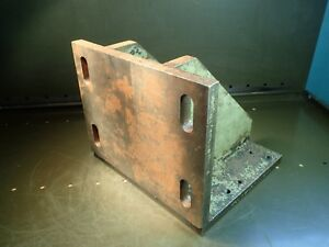 12 X 10 1 4 X 10 Right Angle Set up Mill Milling Fixture Plate Used Good Cond