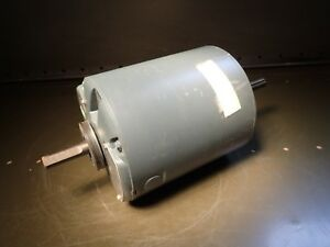 Ge 5kh43mg526x 1 2 Hp Electric Motor 1725 Rpm 5 8 Double Shaft 115v Fr 56z Nos