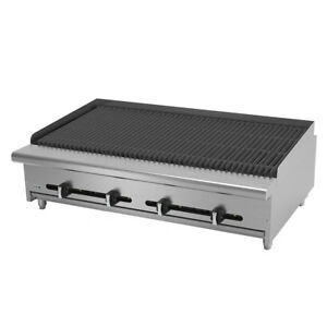Asber Aerb 48 48 Countertop Gas Radiant Charbroiler