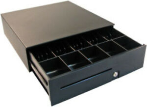Apg 100 Series T470 bl1616 Electronic Cash Drawer Black