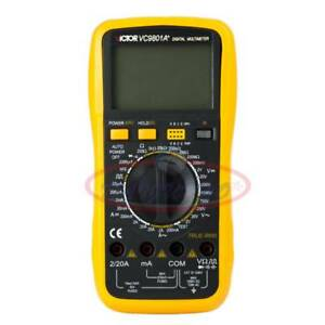 Victor New 3 1 2 Vc9801a Digital Multimeter