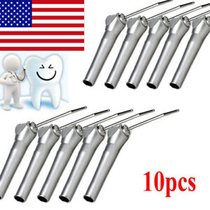 Usa 10x Dental Autoclave Air Water Spray Triple 3 way Syringe Handpiece 2nozzle