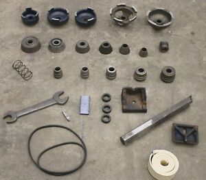 Complete Ammco Adapter Kit Boring Bar Automotive Brake Lathe 1 Arbor Cone Set