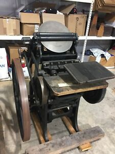 Antique Chandler And Price Letterpress Printing Press