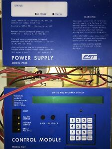 Edwards System Technology Fire Alarm Control Panel Est Model Irc 3