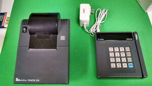 Verifone Tranz 380 Credit Card Terminal And 250 Receipt Thermal Printer