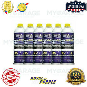 Royal Purple 11757 Max boost Octane Booster And Stabilizer 16 Oz X Pack Of 6