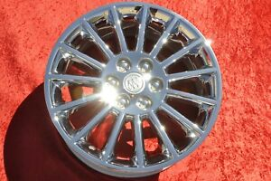 19 One Buick Enclave Oem Chrome Wheel 4079