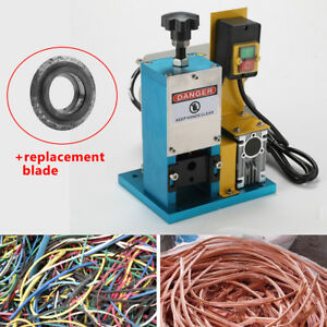 Electric Wire Stripping Machine Portable Metal Scrap Cable Stripper Recycle Tool