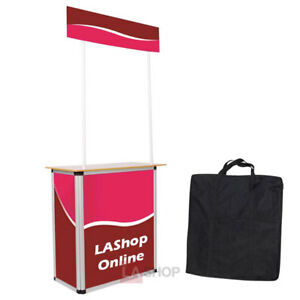 Portable Promotional Demo Counter Trade Show Display 27778