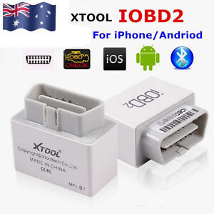 Xtool Iobd2 Bluetooth 4 0 Obd2 Eobd Auto Scanner Code Reader For Iphone Android