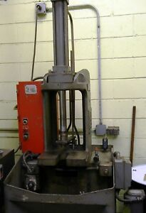 Ohio Vertical Broach 3 Ton 15 Stroke New 1973 Vertical Broaching Machine