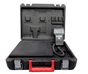 220 Lbs Electronic Refrigerant Charging Digital Weight Scale With Case A c Hvac