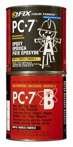 128770 Pc 7 Two part Heavy Duty Multipurpose Epoxy Adhesive Paste 8 Lb In Two